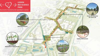 Verbeteren openbare ruimte Bio Science Park